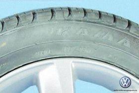 Размеры колес поло седан