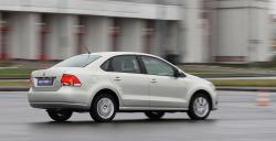 тест-драйв Polo Sedan