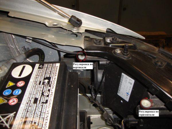 регулировка фар и замена лампы ближнего и дальнего света на volkswagen polo