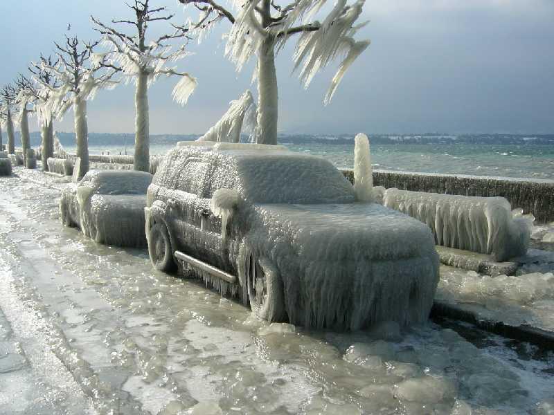 Что опасно для автомобиля в зимнее время