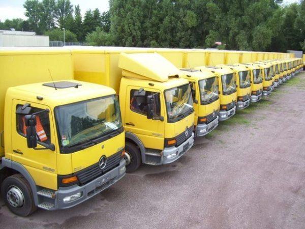 Прокат грузовиков без водителей