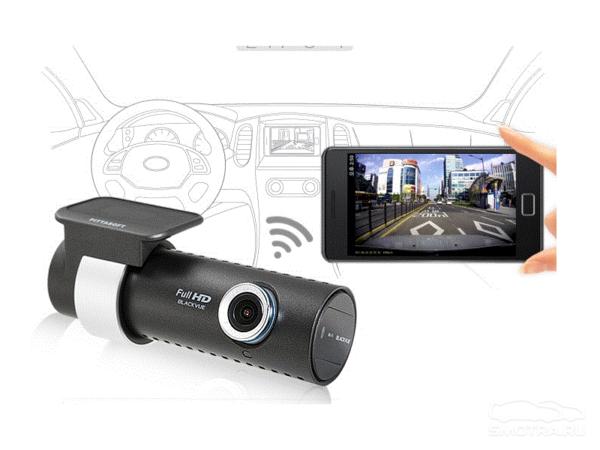 Обзор видеорегистратора BlackVue Wi-Fi DR500 GW HD
