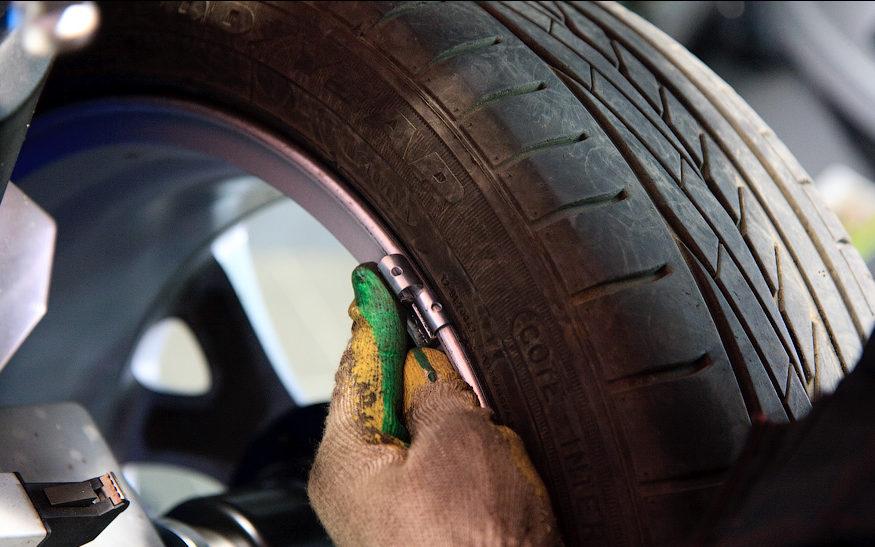 Ошибки при финишной балансировке колес